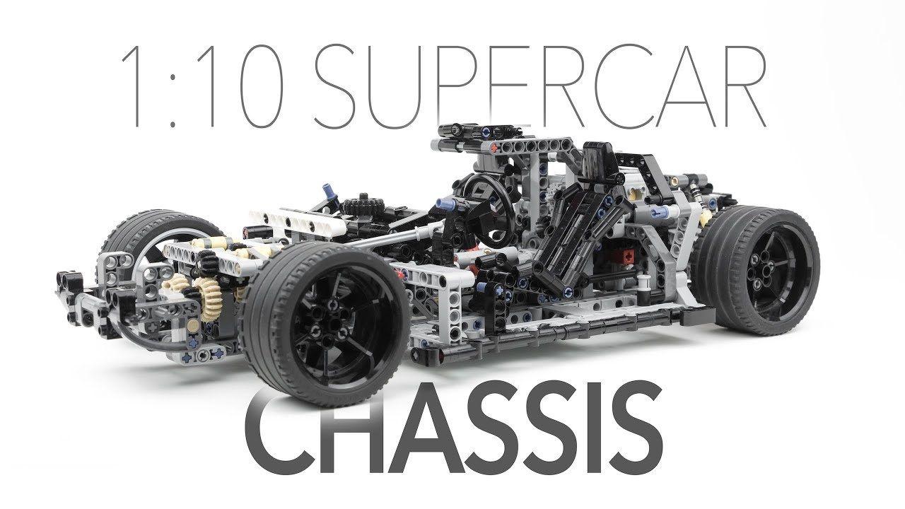 Lego 1 10 Supercar Chassis W Instructions Lego Lego Cars Lego Design