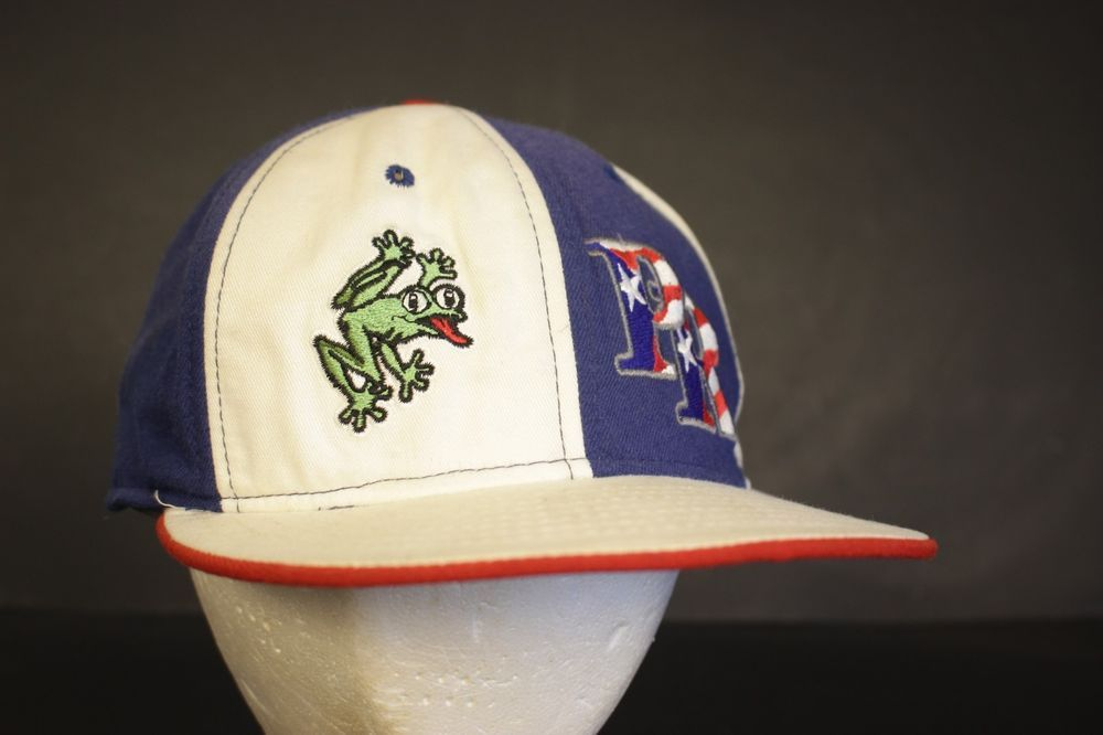 d3efc13a834 Details about Puerto Rico Baseball Hat Cap Fitted New Era Frog Flag ...