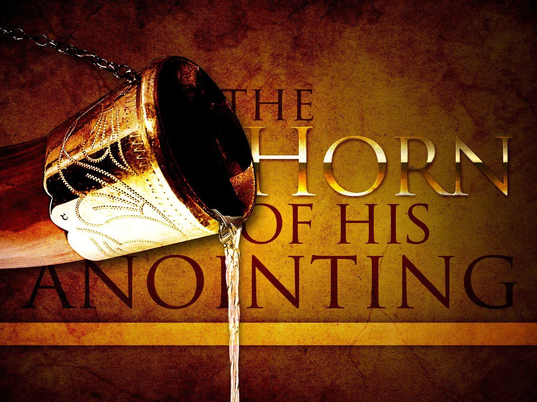 horn for anointing oil Anointing oil prayer