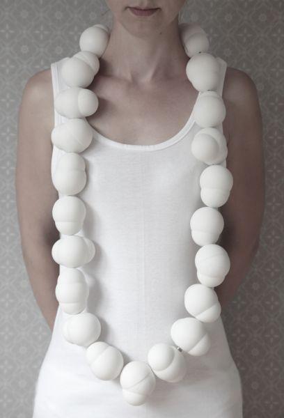 « Fou de Feu » (Design ceramic studio by Veerle Van Overloop) - Life is a bubble – Part#2 – Bubble Line 2010 – ceramic