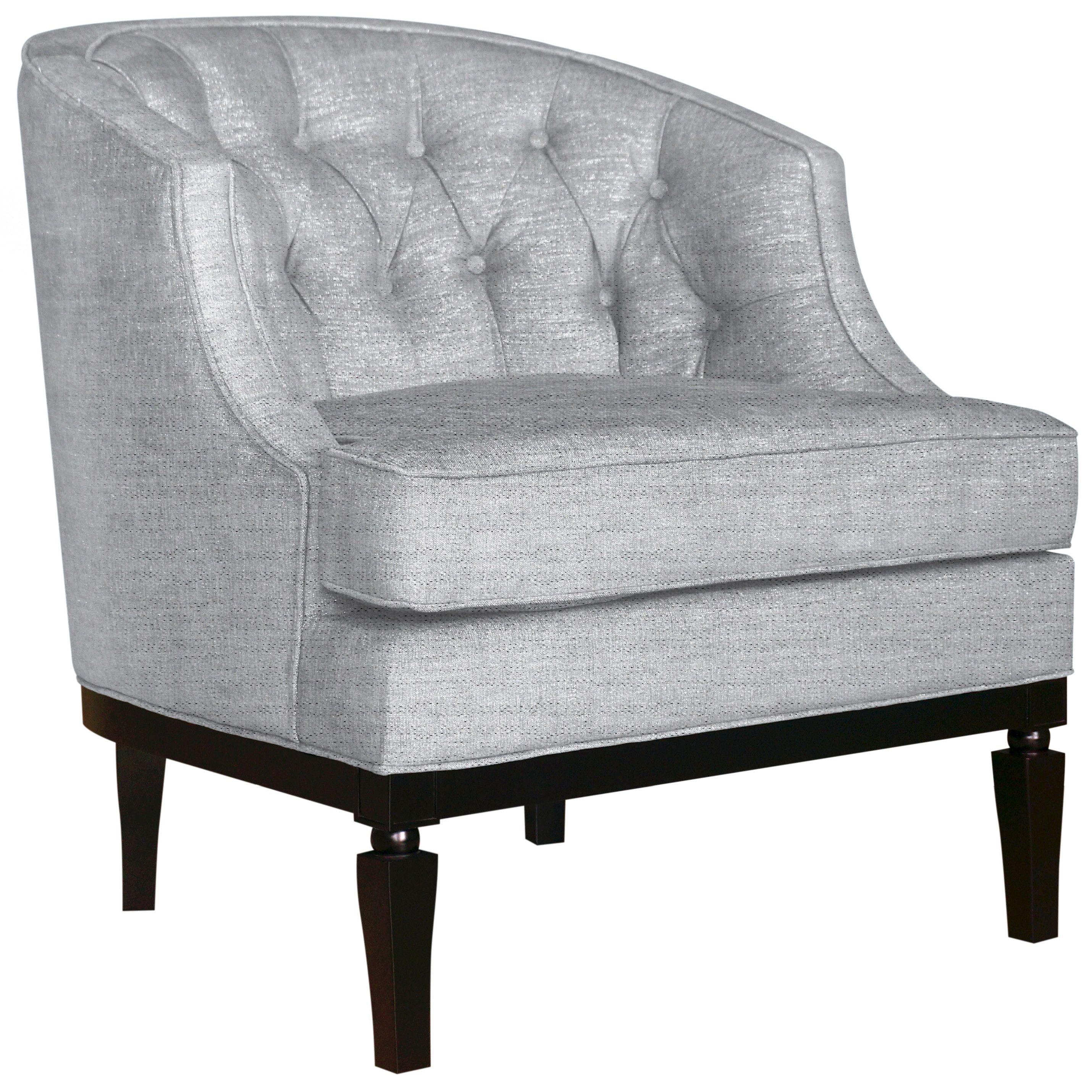 Customer Image Zoomed Fabric Accent Chair Chair