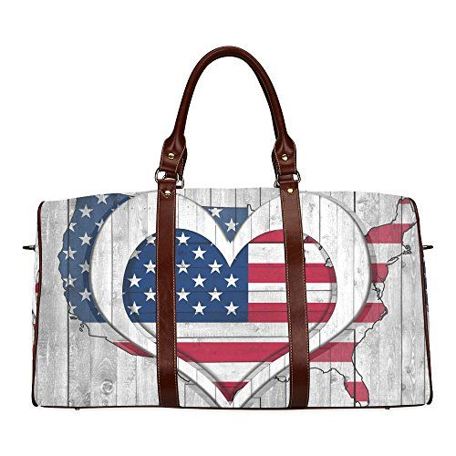 Puerto Rico Gym Bag Deluxe Puerto Rico Flag Duffle Bag