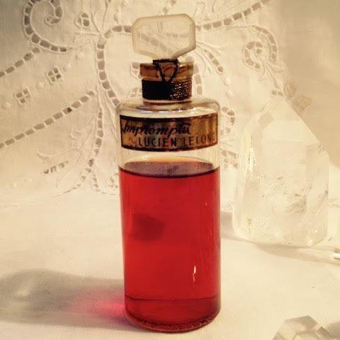 *Lucien Lelong, Impromptu, 2 oz. Flacon, Pure Perfume Extrait, 1937