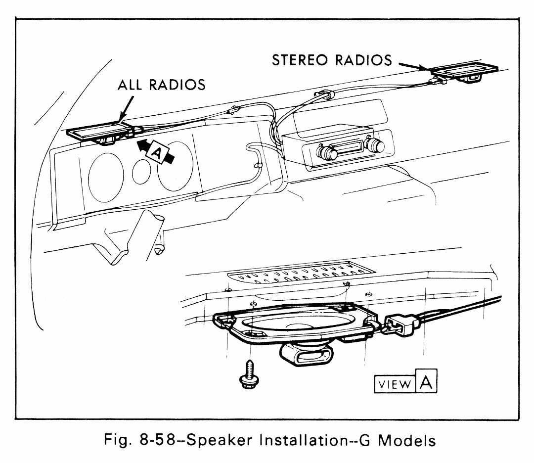 Speaker Installation Schematic Diagram G Models For