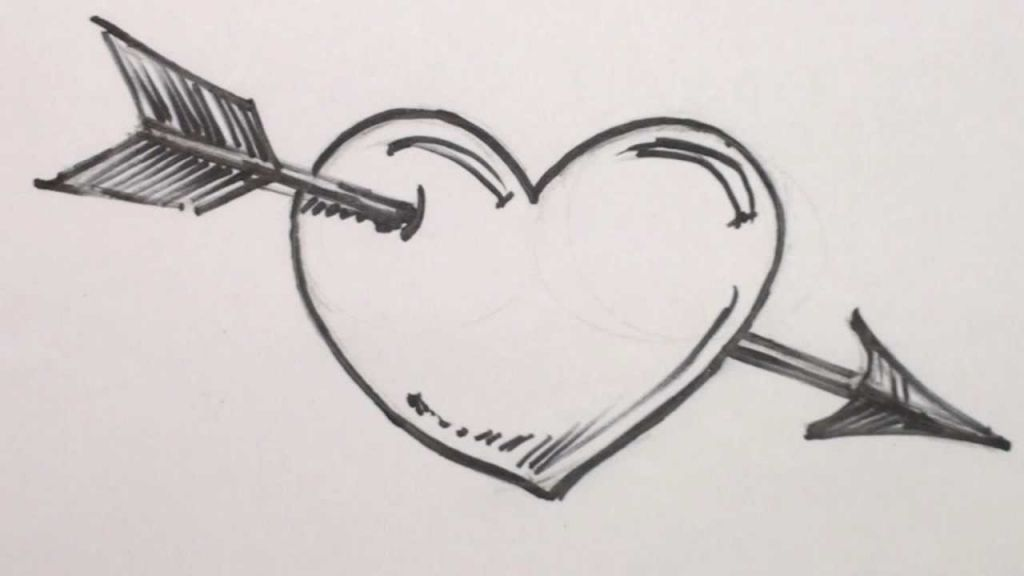 Art By Raylyne Smith Heart Drawing Love Heart Drawing Easy