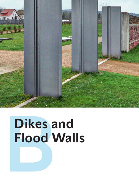 B Dikes And Flood Walls River Space Design Planning Strategies Methods And Projects For Urban Rivers Flood Wall Flood Barrier Bedding Inspiration