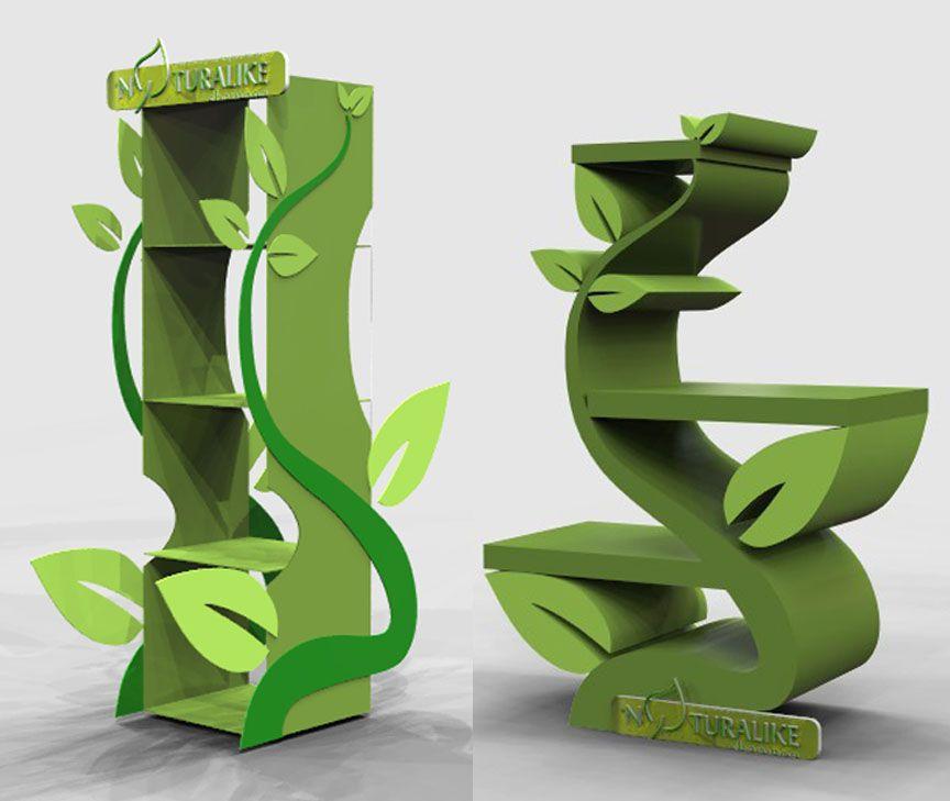 Exhibidores de productos creativos buscar con google for Design de stand
