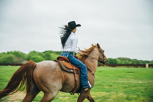 Weekends are for riding. #LongLiveCowgirls