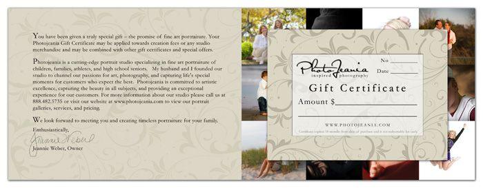 Gift certificate ideas Good ideas Pinterest Gift - gift certificate wording