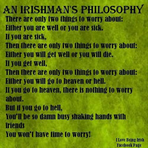 Women men american think of what do irish 10 Things