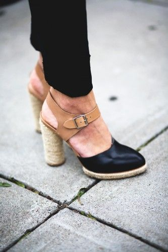 Our own SF editor Angela Tafoya in @Loeffler Randall