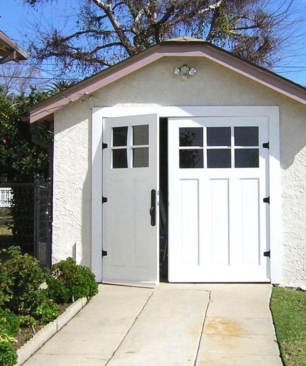 114 Craftsman Traditional Ctl05 Offset In Los Angeles California Ca Garage Doors Carriage Doors Small Garage Door