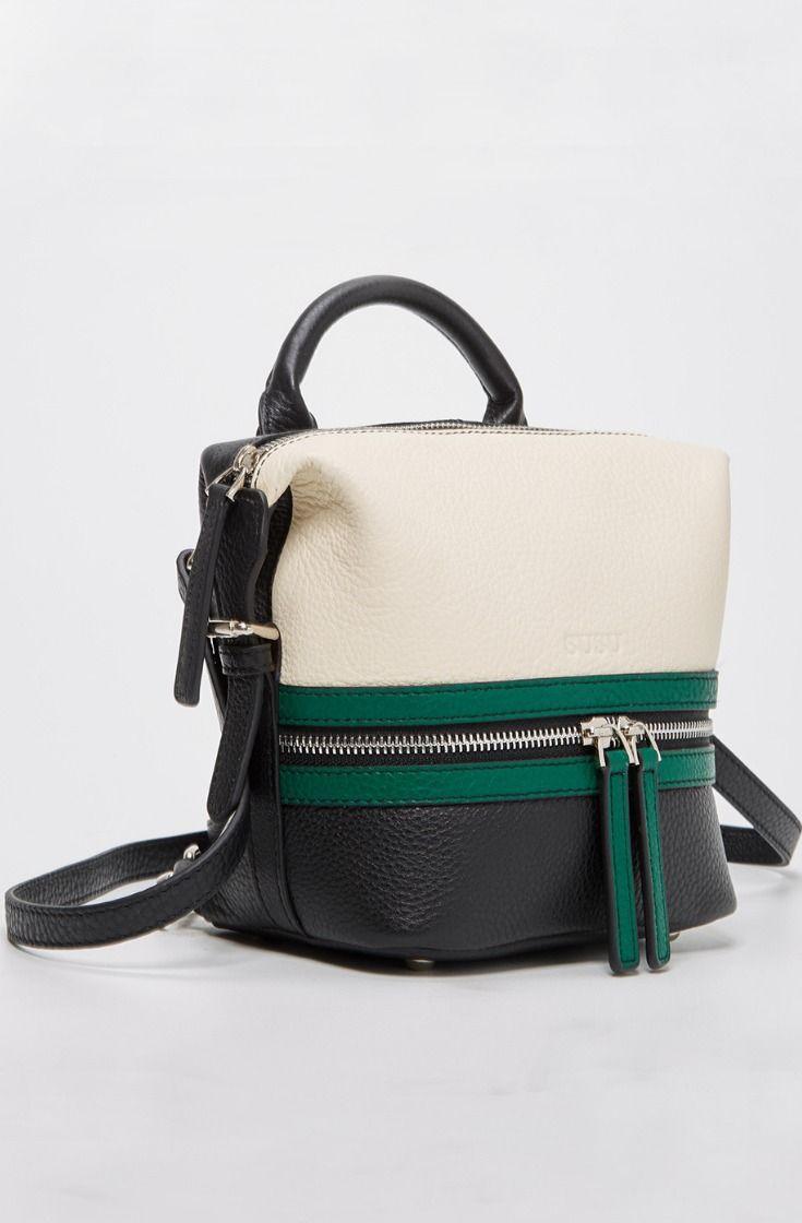 The Ashley Mini Backpack Purse Leather Convertible Small Crossbody ... cc5f03341cdbc