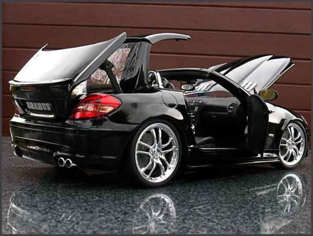 Voiture Miniature Com Images Miniatures Model Slk Brabus With