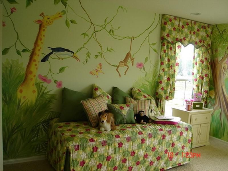 79 Children's Room Ideas   Jungle bedroom, Jungle baby ...