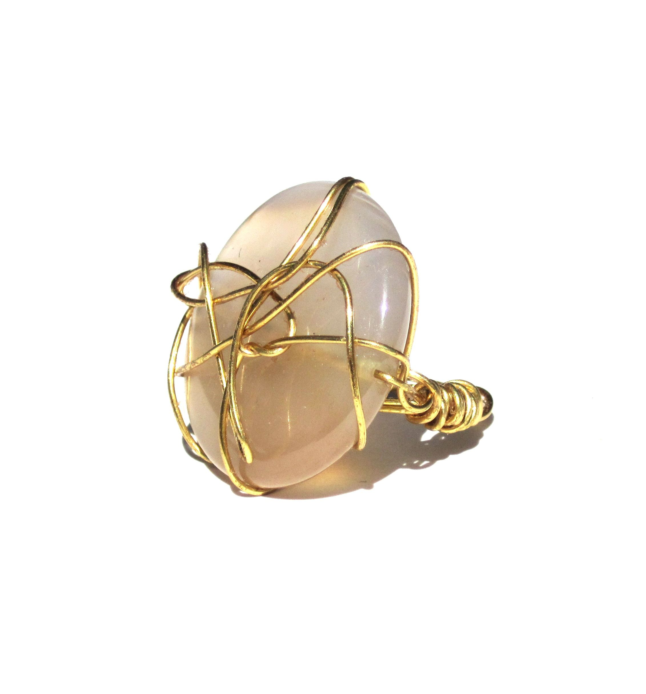 Gold Wire Wraped Ring