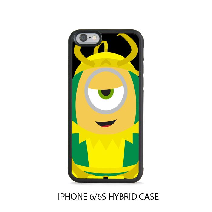 Despicable Me Minion LOKI iPhone 6/6s HYBRID Case Cover