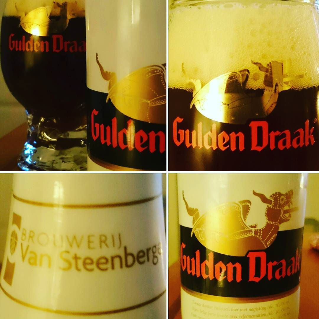Gulden Draak my precious :-) Cheers @thedreammmmm @ariellolomosko @jefversele  #guldendraak #loveinabottle #beer #biere #vansteenberge #öl #belgium #belgianbeer #Bier #ambassador