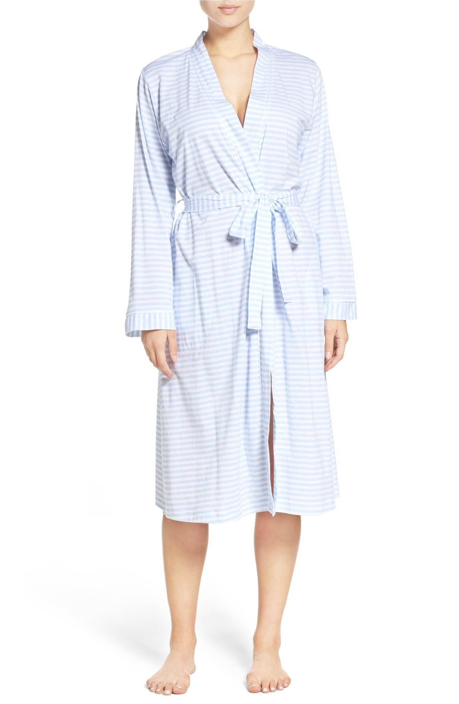 2c24d7f45a Blue Striped Robe