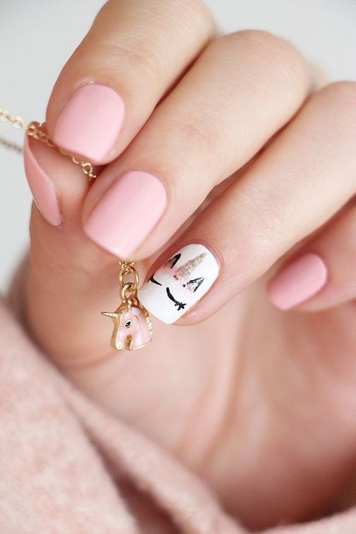 23 Nail Ideas To Try This Spring: 23 Cute Uniqorn Nail Art Designs For Kids