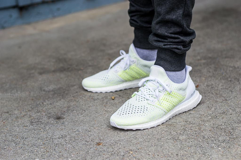 2152c8ea361a5 See how the Adidas Ultraboost Clima Solar Yellow look on feet in this video  review. Find out where you can buy these Adidas Ultraboost Clima online!