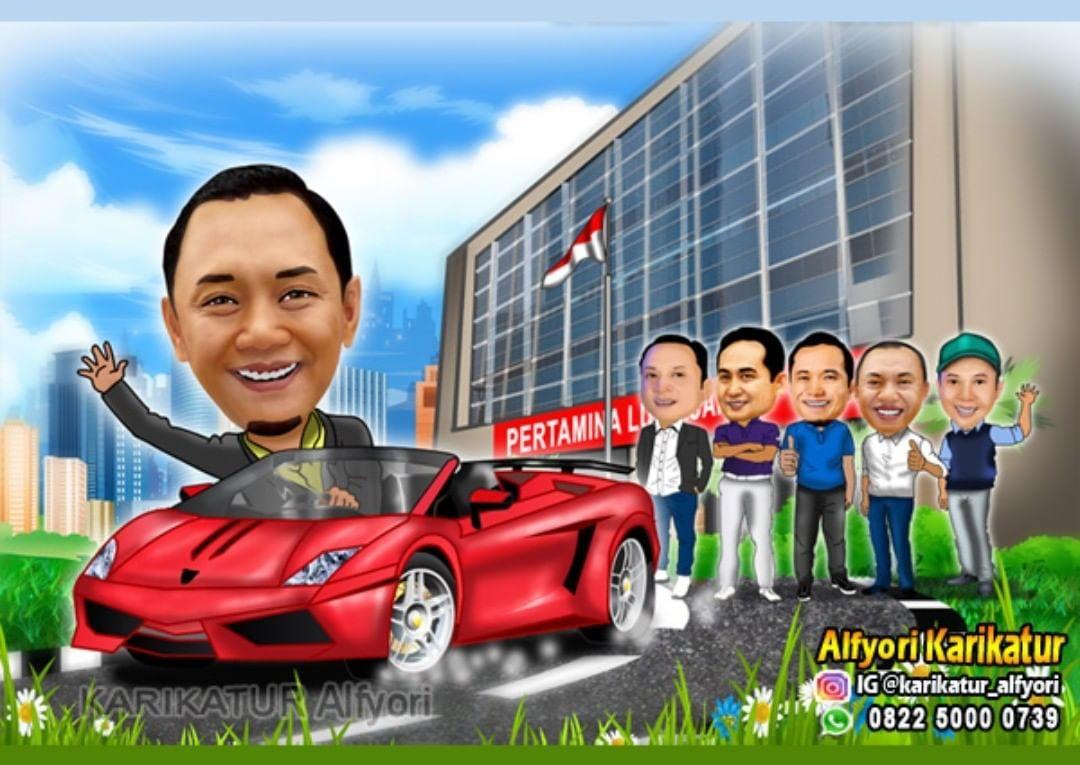 Pin Di Jasa Karikatur Depok