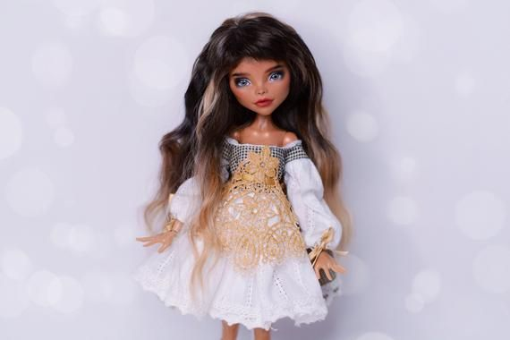 OOAK Monster High doll Nefera de Nile #ooakmonsterhigh