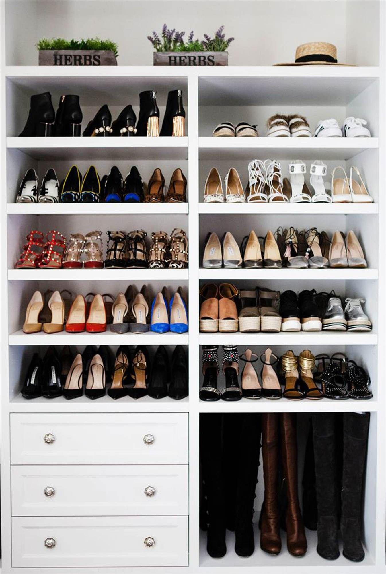 El Orden Esta En La Caja Gabinete De Zapatos Closet Para Zapatos Armario De Zapatos