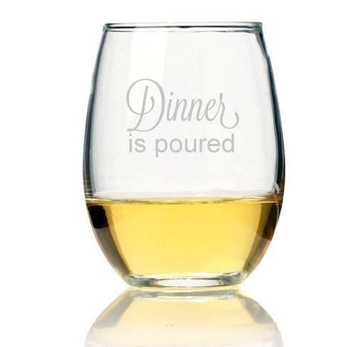 21 oz. Stemless Wine Glass