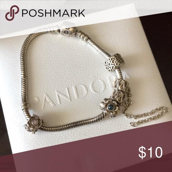 Pandora Older Style Bracelet Damaged Lot Older Fashion Fashion Bracelets Pandora