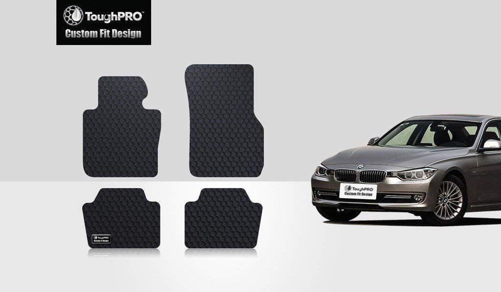 ToughPRO Floor Mats Set For BMW 320i All Weather Heavy