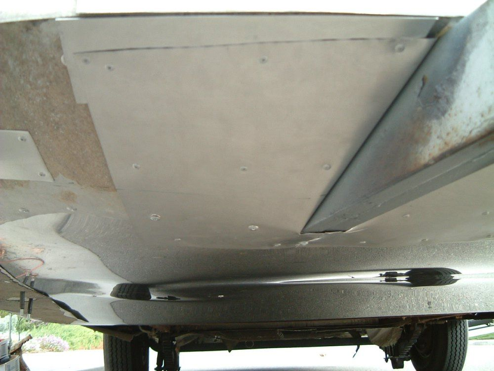 Replacing the Belly Skin - Vintage Airstream | Airstream