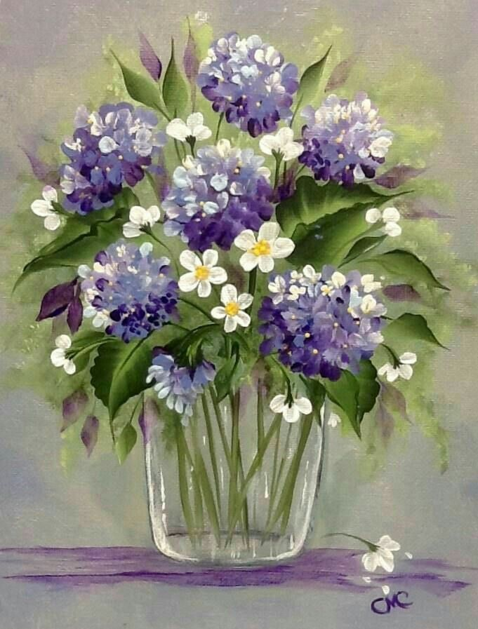 Beautiful Flower Painting Floral Painting Beginner Painting