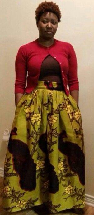 ♥AfricanShop ● Ruki Skirt