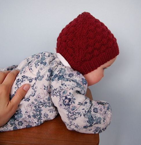 Ravelry: Project Gallery for Bobble-Texture Baby Hat pattern by Becky Stern