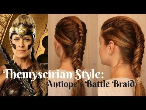 Wonderwoman Inspired Themyscirian Style Antiope 39 S Quot Battle Quot Braid Youtube Hair Styles Cool Braid Hairstyles Womens Hairstyles