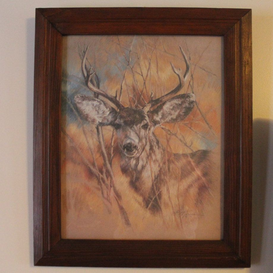 Vintage 1978 Home Interiors Homco The Silent Buck | Home ...