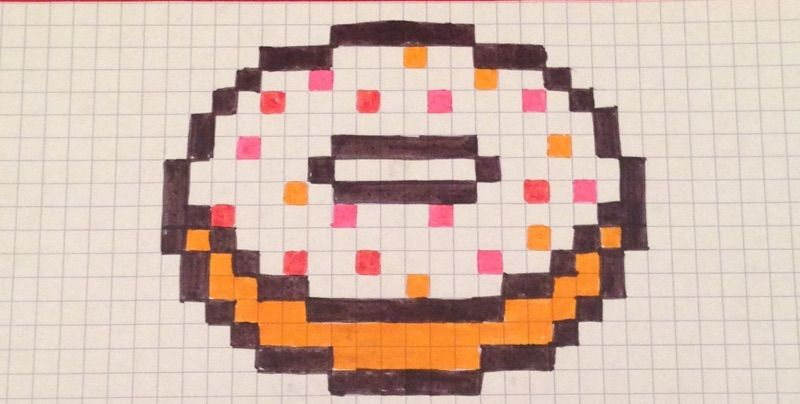Hamburger Pixel Art Nourriture Kawaii