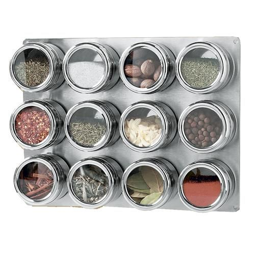 Magnetic Spice Rack Kitchen Pantry
