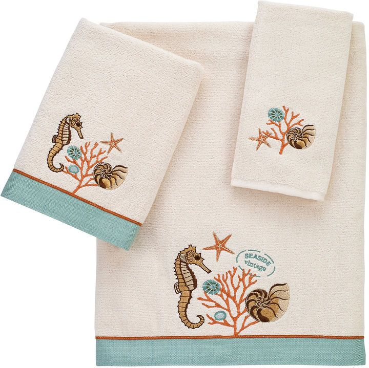 avanti seaside vintage bath towel collection