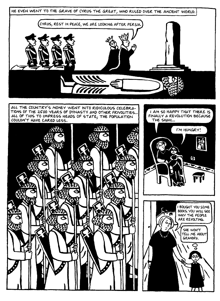 Persepolis Excerpt Pt 3 Cyrus The Great Cultural Identity Graphic Panels