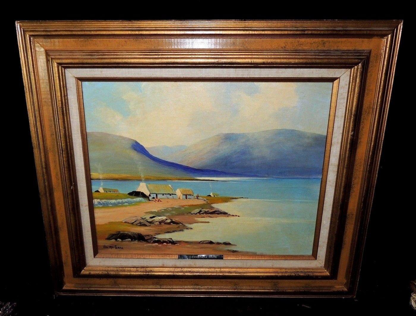 Original Oil on Board Painting Connemara Home by Val McGann - Signed/Framed https://t.co/G5kZ1M8av1 #Homedecor https://t.co/qTOyQup6vL