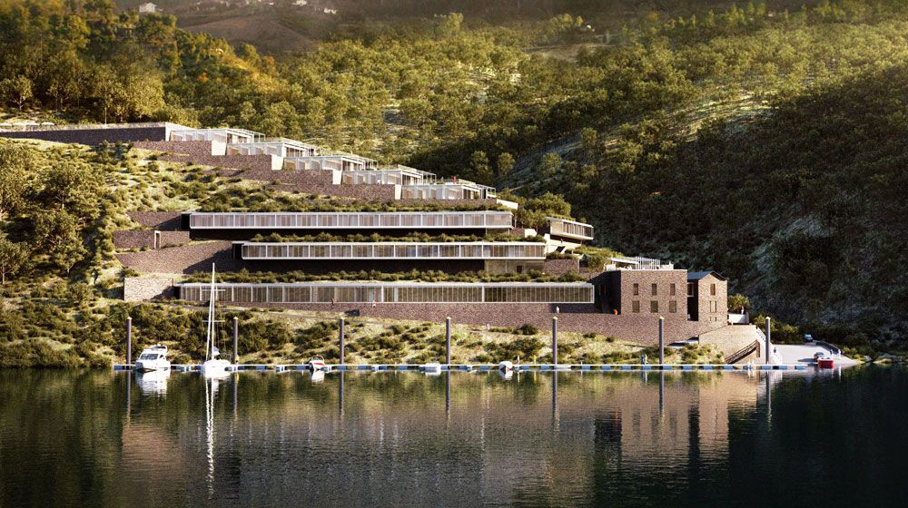 High Quality Douro 41 Comprises A Luxurious Hotel Together With A Cluster Of 25  Touristic Residential Villas To Be Used As A Second Dwelling, A Global  Investment Worth ... Pictures