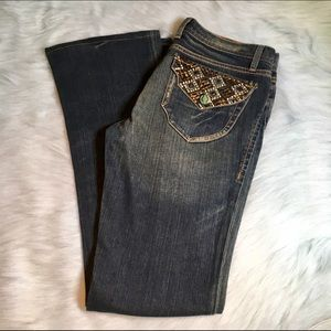 I just added this to my closet on Poshmark: Born In California Silver Lake Jeans. Price: $15 Size: 29
