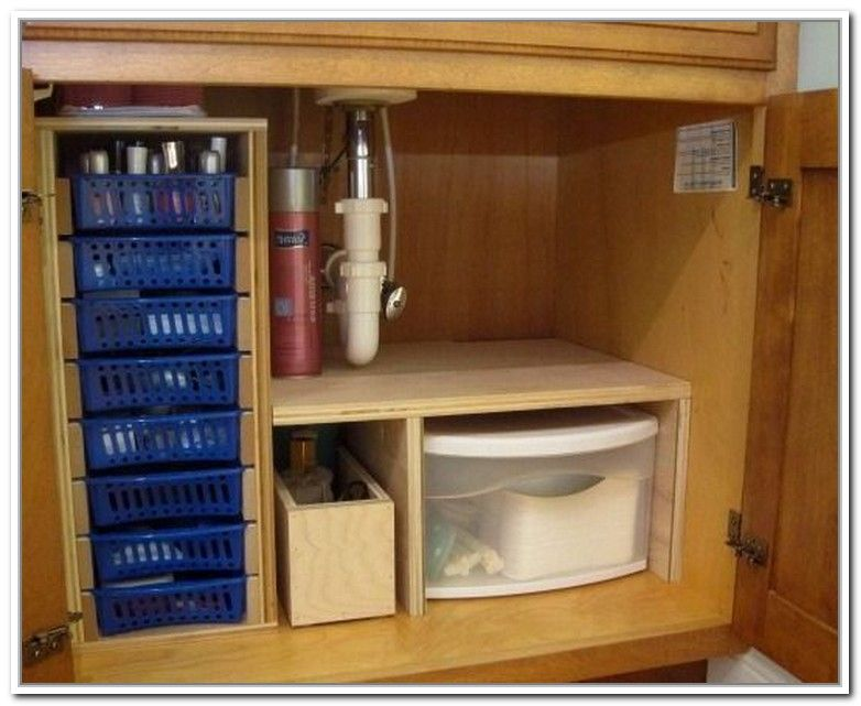 Diy Under Bathroom Sink Storage Wish List for the renovation