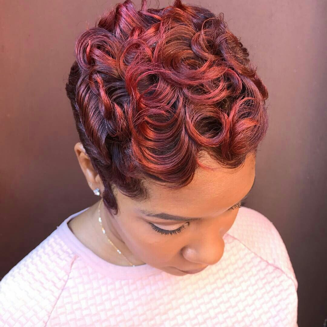 Pin By Leing Cuffy On Short Hair Is Fire Short Hair Styles Pixie Short Sassy Hair Sassy Hair