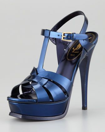 d8bef632e022 Yves Saint Laurent Tribute Platform Sandal