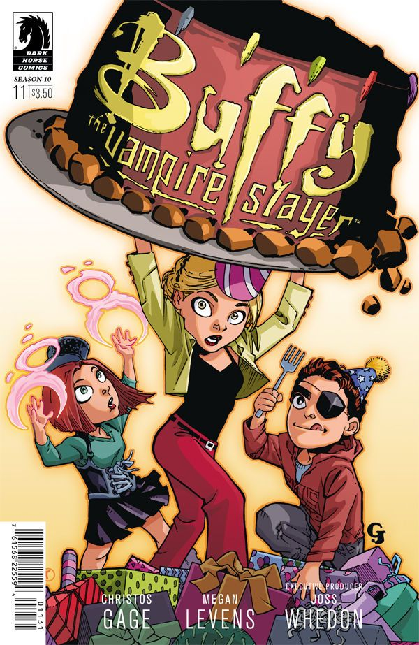Buffy the Vampire Slayer: Season Ten #11 (Georges Jeanty and Tariq Hassan birthday variant cover)