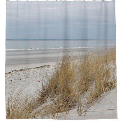 Ocean Beach On Cape Cod Shower Curtain Zazzle Com Ocean Beach