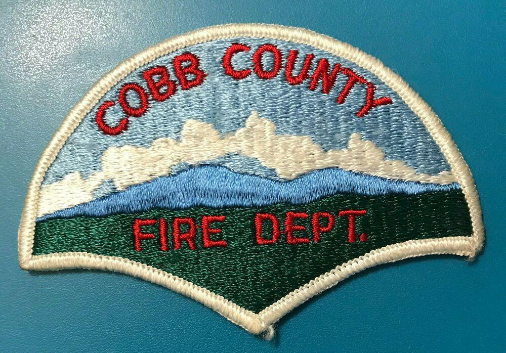 Cobb County Fire Dept Georgia Ga Rescue Patch Patches Fire Dept Fire Service